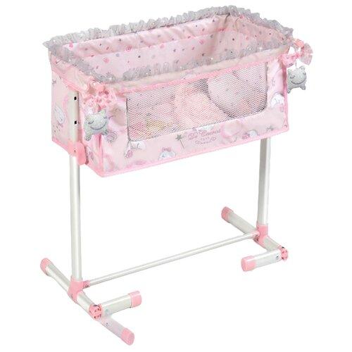 Купить 51234 Кроватка для куклы серии Мария с опускающимся бортиком, 50 см, DeCuevas, Мебель для кукол