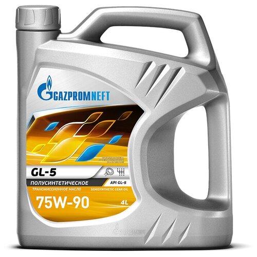 Масло трансмиссионное Газпромнефть GL-5 75W-90, 75W-90, 4 л