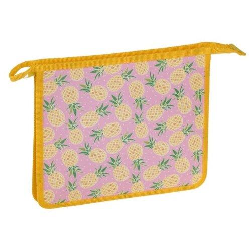Купить ArtSpace Папка для тетрадей Yellow, А5, 1 отделение, пластик, на молнии желтый, Файлы и папки