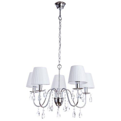 Люстра Arte Lamp A9123LM-5CC, E14, 200 Вт подвесная люстра arte lamp a9123lm 5cc