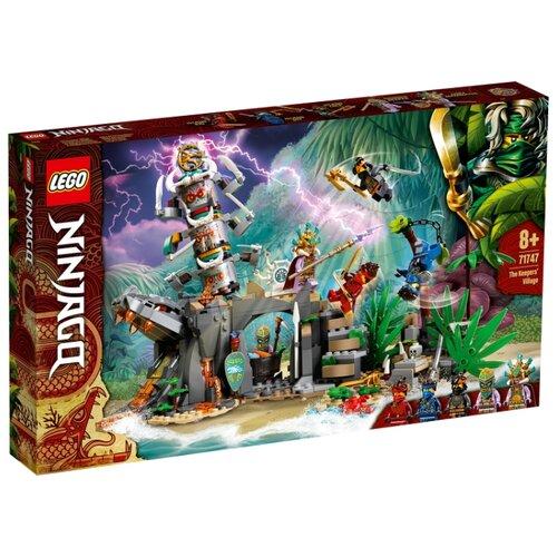 Купить Конструктор LEGO Ninjago 71747 Деревня Хранителей, Конструкторы