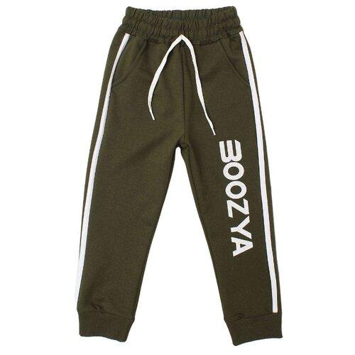 Брюки Boozya размер 128-134, темно-зеленый брюки boozya размер 110 116 темно синий