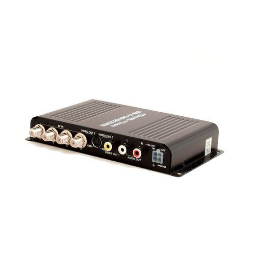Автомобильный цифровой HD ТВ-тюнер DVB-T2 компактного размера AVIS AVS7004DVB