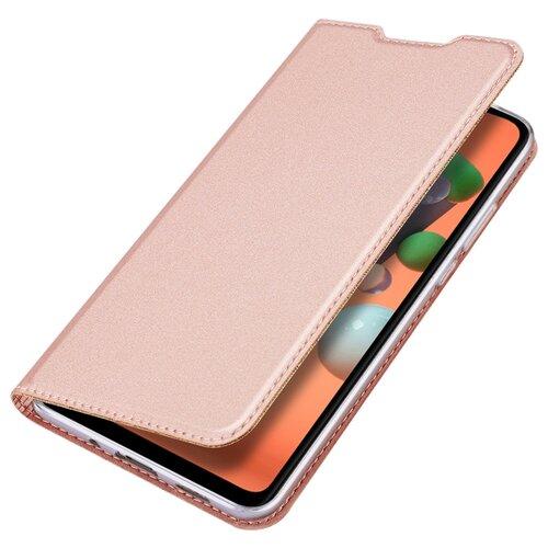 Чехол книжка Dux Ducis для Xiaomi Redmi Note 9T / Note 9 5G, Skin Series, розовое золото