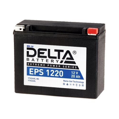 Мото аккумулятор DELTA Battery EPS 1220 (YTX24HL-BS / YTX24HL)