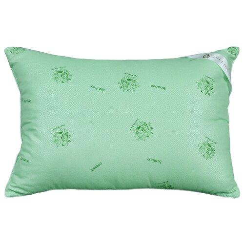 Подушка SELENA Акварель Бамбуковое волокно, 50x70 см