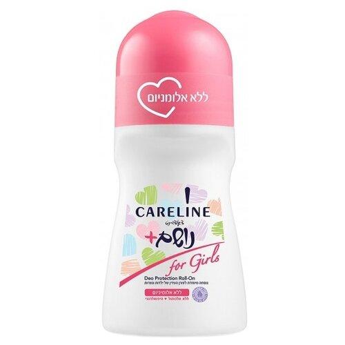 Careline дезодорант, ролик, For Girls, 75 мл