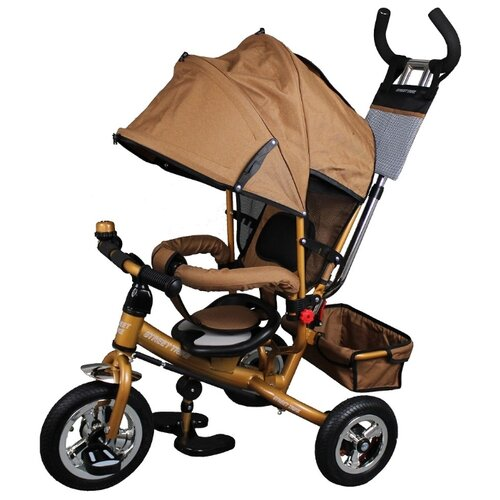 Купить Трехколесный велосипед Street trike A22-1, бежевый, Трехколесные велосипеды