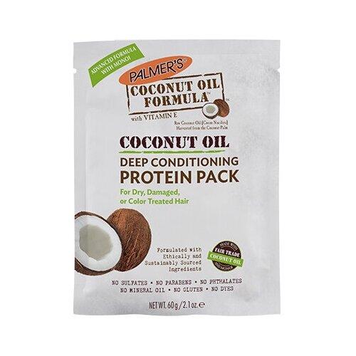 Купить Питательная маска для волос с маслом кокоса и протеинами, 60 г, Palmer's