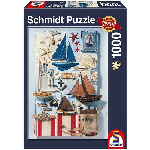 Пазл Schmidt Морской коллаж (58381), 1000 дет.