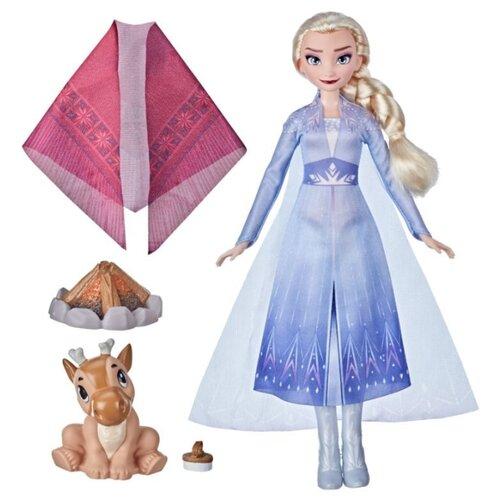 Купить Игровой набор Hasbro Холодное сердце 2 Эльза у костра F1582, Игровые наборы и фигурки
