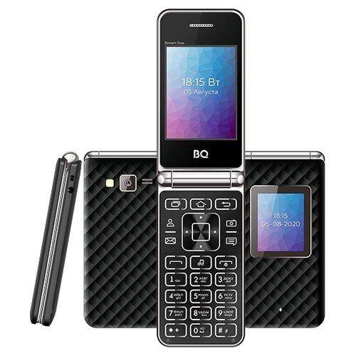 Фото - Телефон BQ 2446 Dream Duo, черный мобильный телефон bq mobile bq 2446 dream duo gold
