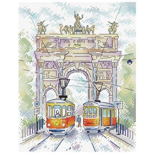 Купить Жар-птица Набор для вышивания Триумфальная арка 18 х 22 см (М-520), Наборы для вышивания