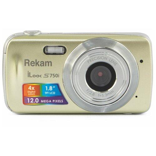 Фото - Фотоаппарат Rekam iLook S750i шампань rekam ru 43g золотой