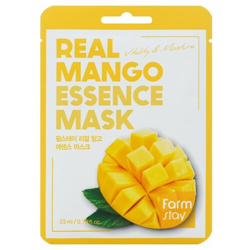 Купить Тканевая маска для лица с экстрактом манго, 23 мл, Farmstay (280327)