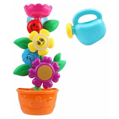 Набор для ванной ABtoys Цветок-мельница с лейкой (PT-01210)