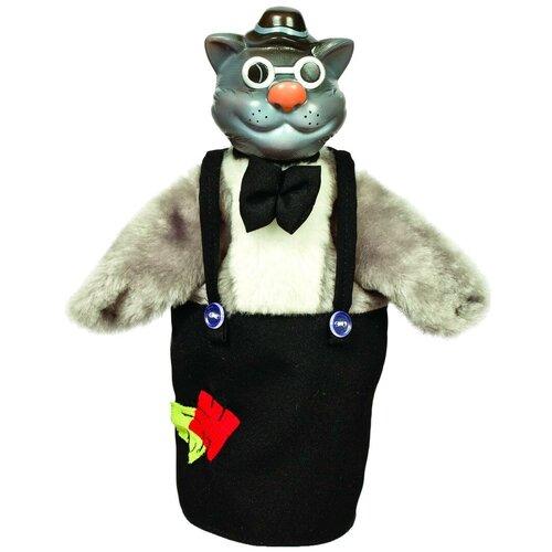 Купить Весна Перчаточная кукла Кот (B1987) серый/черный, Кукольный театр