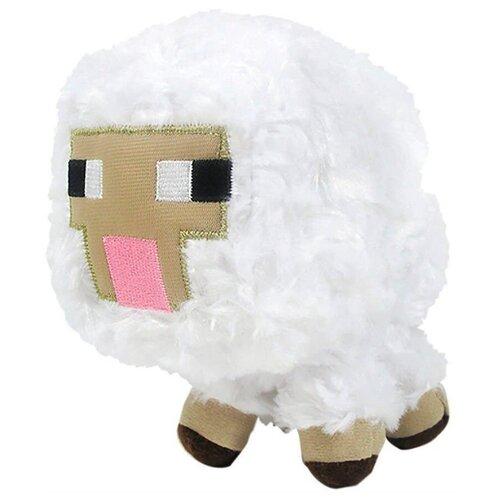 Детская мягкая игрушка ВсеИгрушки / Плюшевая Овечка Sheep из игры Майнкрафт (Minecraft) для детей, мальчиков и девочек