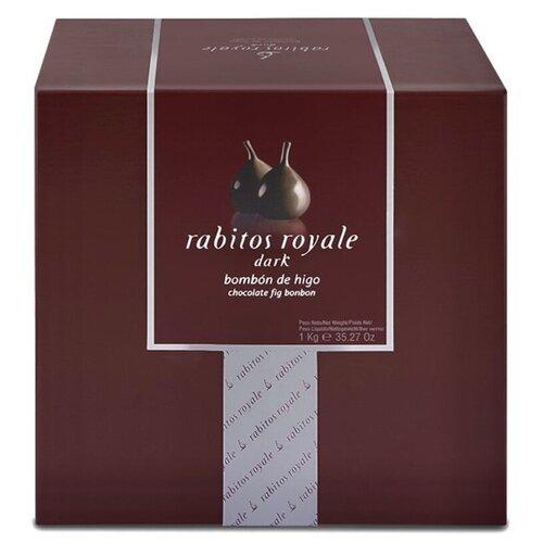Конфеты инжир Rabitos Royale в темном шоколаде с трюфельным кремом, 1000 г, Испания