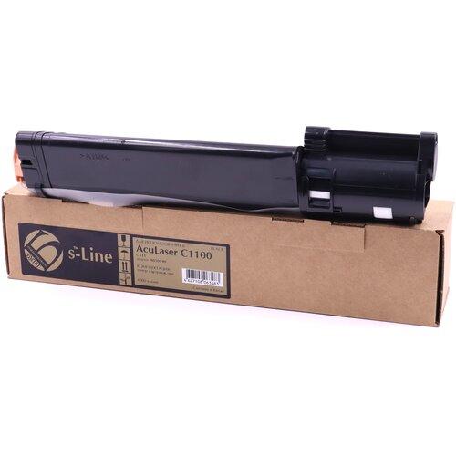 Фото - Тонер-картридж булат s-Line S050190 для Epson AcuLaser C1100, CX11 (Чёрный, 4000 стр.) картридж лазерный cactus cs eps188 пурпурный 4000стр для epson aculaser c1100 c1100n cx11 cx11n cx11nf cx11nfc