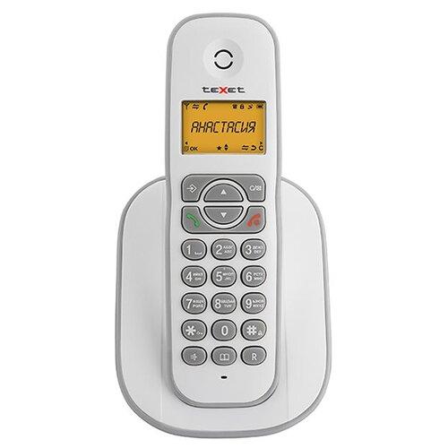 Фото - Радиотелефон teXet TX-D4505A White-Grey радиотелефон texet tx d4505a черный