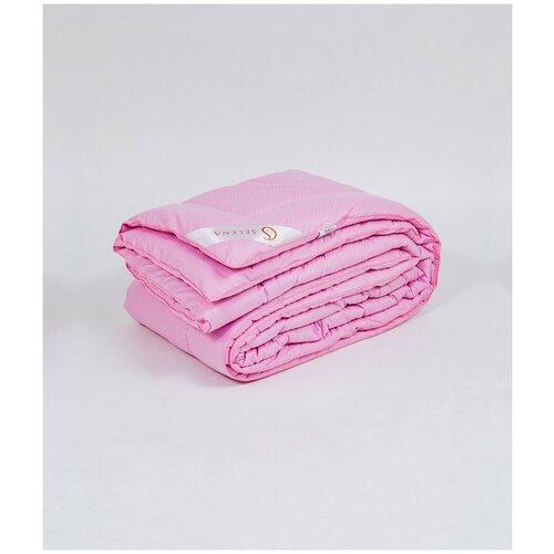 Одеяло SELENA EL AMOR ROSE LIFE 172х205 см, Облегченное, сатин, 100 % хлопок, (лебяжий пух 250 г)