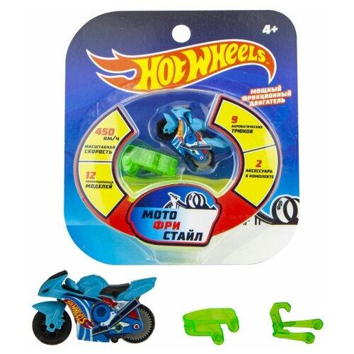 Мотоцикл Hot Wheels Мотофристайл (Т16717), голубой