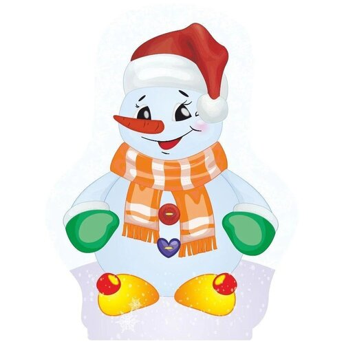 Фигурка Учитель Веселый снеговик (МП-210) разноцветный
