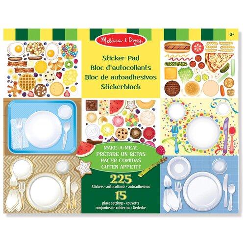 Купить Творчество Набор стикеров Готовим обед Melissa Doug 4193, Melissa & Doug, Наклейки