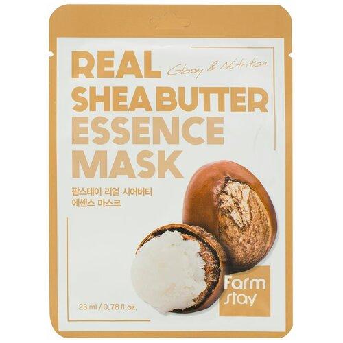 Купить Тканевая маска для лица с маслом ши, 23 мл, Farmstay (652468)