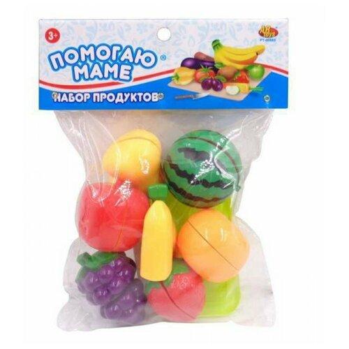 Фото - Набор продуктов ABtoys Помогаю Маме PT-01358 разноцветный набор продуктов с посудой abtoys помогаю маме pt 00395 разноцветный