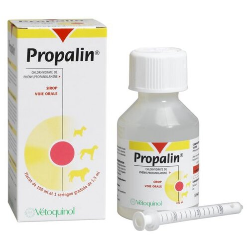 Суспензия Vetoquinol Пропалин, 100 мл