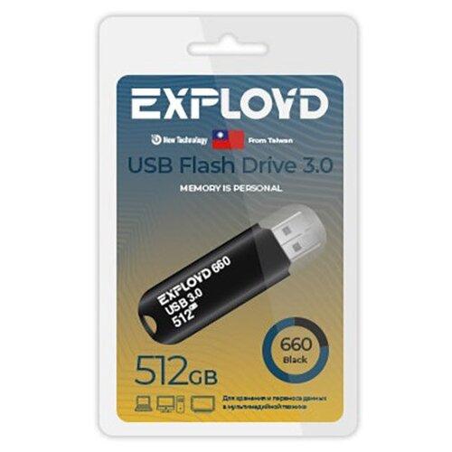 Фото - USB Flash Drive 512Gb - Exployd 660 3.0 EX-512GB-660-Black usb flash drive 32gb exployd 640 ex 32gb 640 black