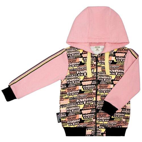 Купить Толстовка lucky child размер 26 (86-92), розовый, Джемперы и толстовки