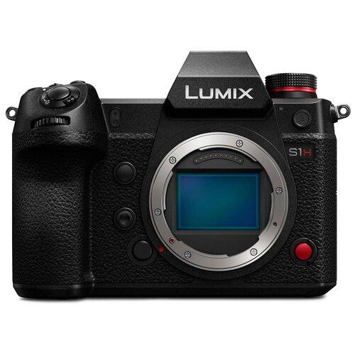 Фото - Фотоаппарат Panasonic Lumix DC-S1H Body черный фотоаппарат