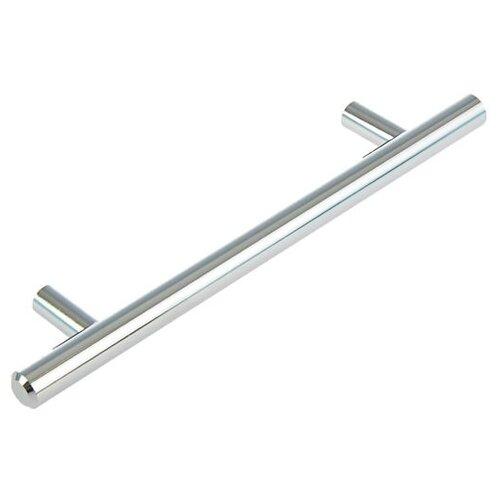 Ручка рейлинг, d=12 мм, м/о 128 мм, цвет хром 1866228