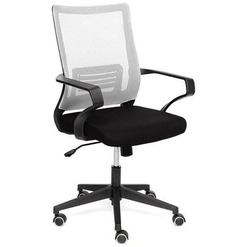 Компьютерное кресло TetChair Mesh-4 для руководителя, обивка: текстиль, цвет: черный/серый