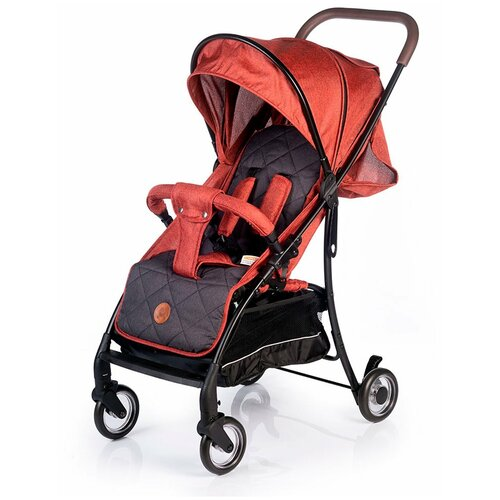 Фото - Коляска прогулочная BabyHit PRIMAVERA, RED GREY прогулочная коляска babyhit allure бежевый серый