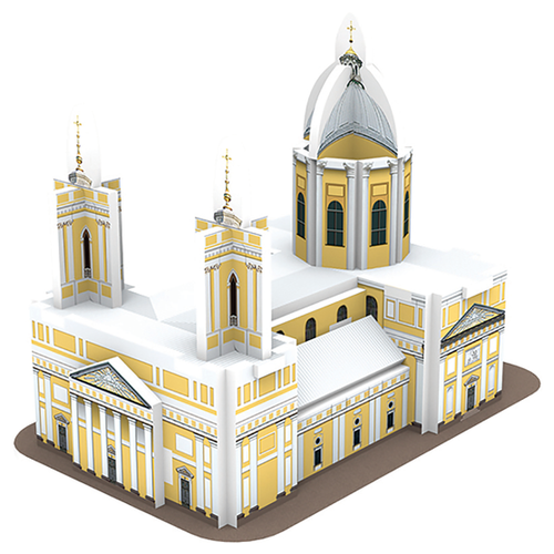 3D-пазл IQ Puzzle 3D Александро-Невская Лавра (17036), 18 дет.