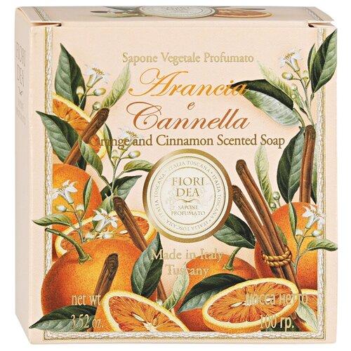 Набор мыла кускового Fiori Dea Arancia e cannella, 100 г fiori dea бальзам для губ sweet