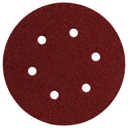 Фото - Шлифовальный круг на липучке Metabo 624008000 150 мм 5 шт шлифовальный круг на липучке hammer 214 016 150 мм 5 шт