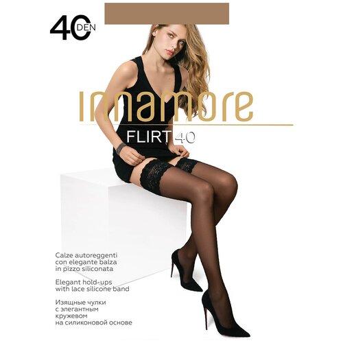 Чулки Innamore Flirt, 40 den, размер 3-M, daino (бежевый)