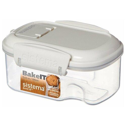 Фото - Sistema Контейнер BAKE-IT 1201, 8.7x12 см, прозрачный sistema контейнер с чашкой bake it 1250 13x17 5 см прозрачный