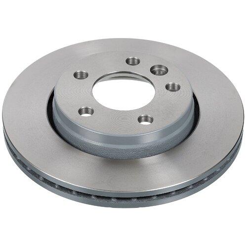 Комплект тормозных дисков задний Febi 28682 294x22 для Volkswagen Transporter (2 шт.) комплект тормозных дисков передний jurid 562079j 282x18 для volkswagen transporter volkswagen lt28 volkswagen lt46 2 шт