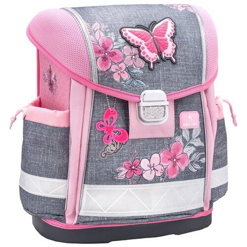Купить Ранец Belmil Classy - Elegant, Бабочка, розовый, Рюкзаки, ранцы