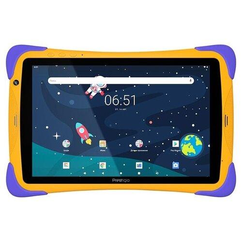 Планшет Prestigio SmartKids Up (2021), оранжевый/фиолетовый