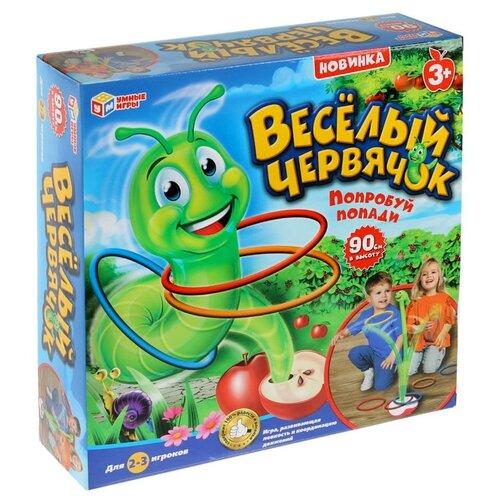 Фото - Настольная игра Играем вместе Веселый червячок настольная игра играем вместе лягушки