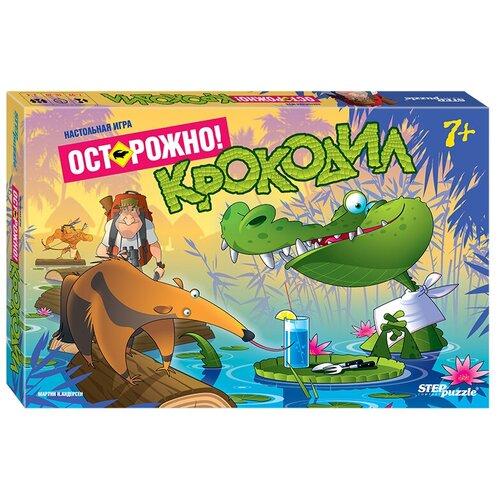 Фото - Настольная игра Step puzzle Осторожно! Крокодил настольная игра step puzzle лесное царство