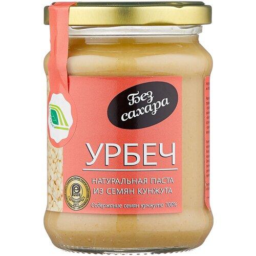 Фото - Биопродукты Урбеч из семян кунжута, 280 г биопродукты урбеч натуральная паста из семян льна органического 280 г