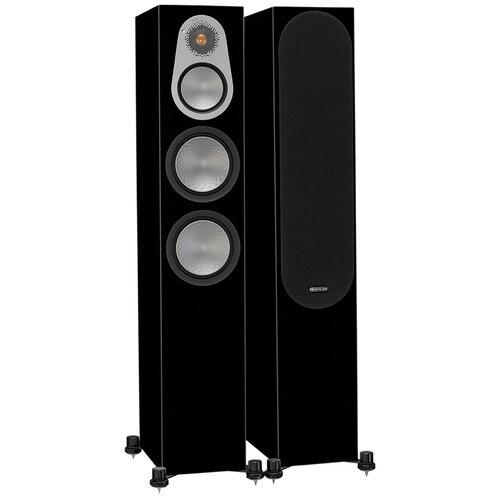 Напольная акустическая система Monitor Audio Silver 300 High Gloss Black